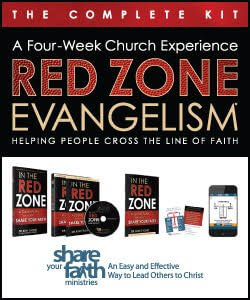 Red Zone Evangelism - The Complete Kit